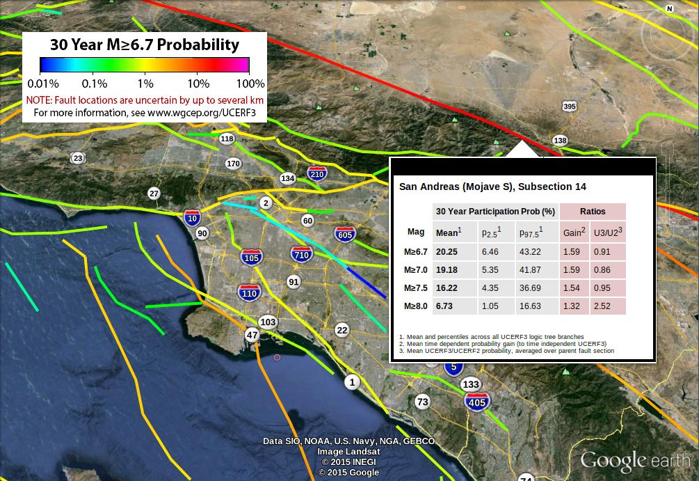 Third Uniform California Earthquake Rupture Forecast (UCERF3