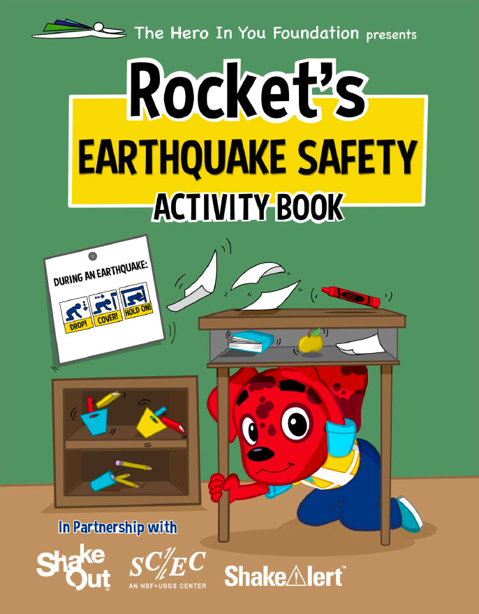 Rocket Rules Earthquake Activity Book