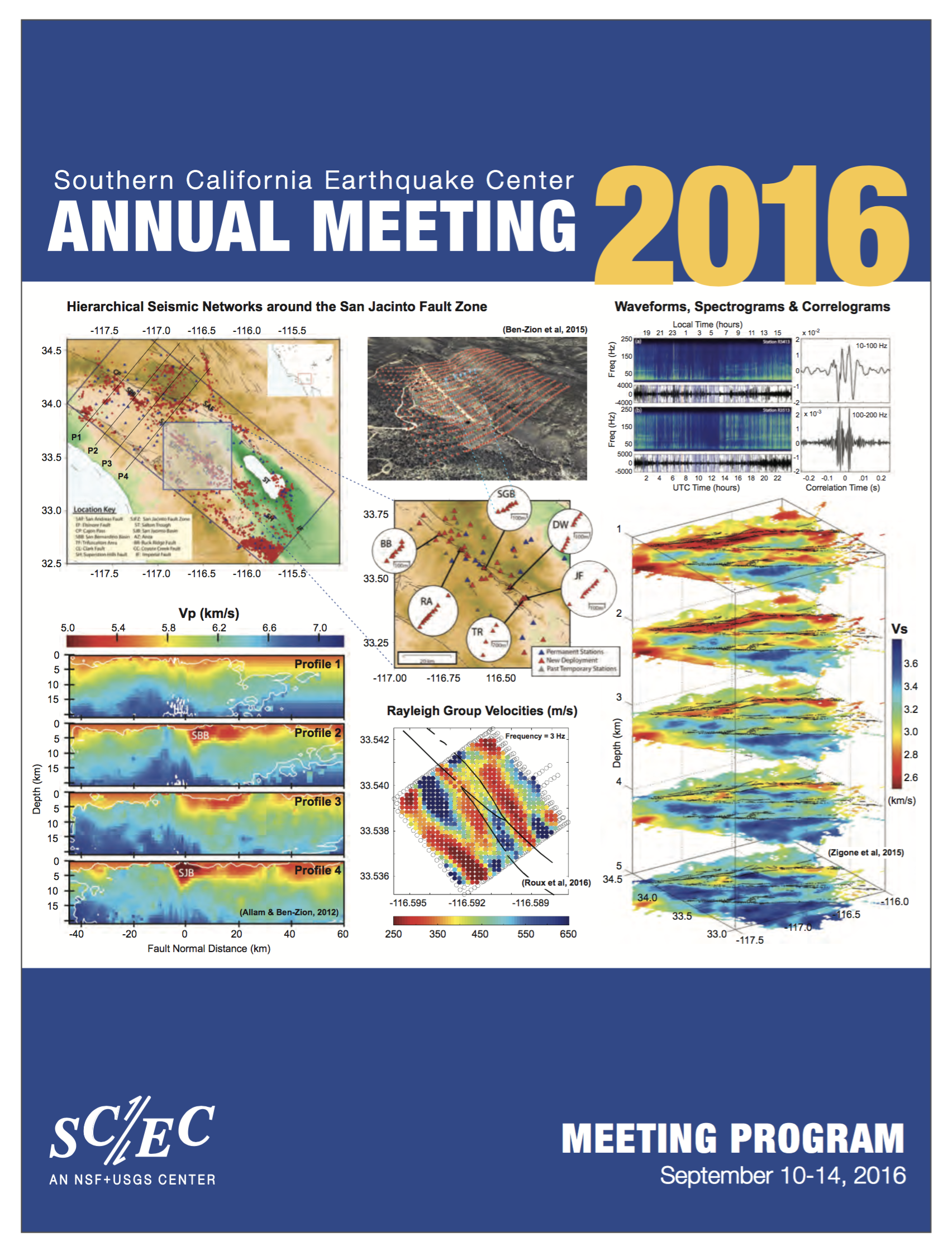 2016 SCEC Annual Meeting | Southern California Earthquake Center