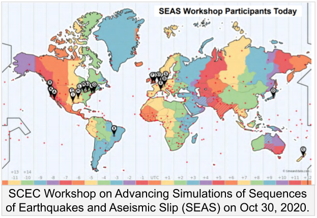 SEAS Workshop Participants Today
