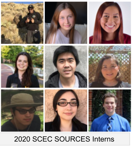 2020 SOURCES Internship Participants