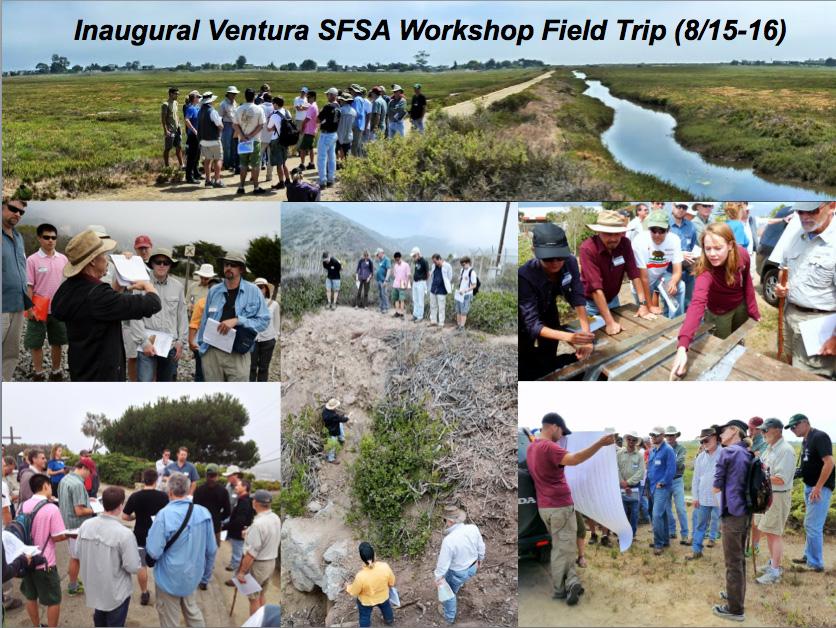 SCEC Ventura SFSA Field Trip