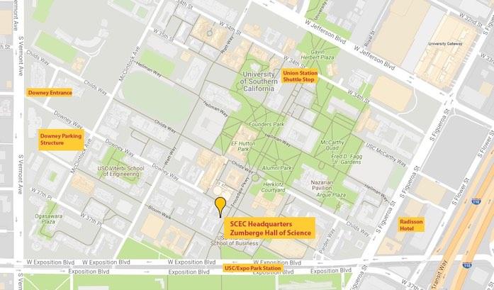 SCEC Contact Information | Southern California Earthquake Center