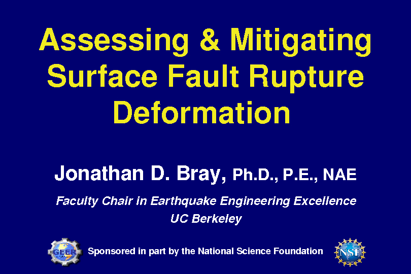 Meeting Abstracts | Southern California Earthquake Center